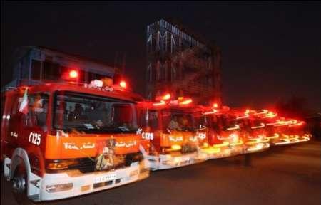 استقرار 160 آتش نشان در 40 نقطه نمایشگاه بین المللی کتاب تهران