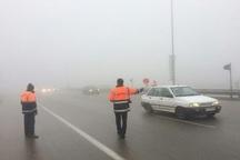 بارندگی موجب لغزندگی جاده های خراسان رضوی شد
