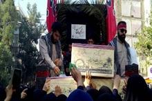 9 شهید گمنام در شیراز تشییع شدند