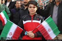 تجدیدعهد مردم خراسان شمالی در راهپیمایی 22بهمن با آرمان های انقلاب