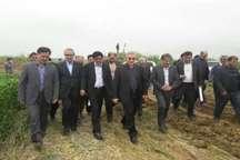 بیش از 17هزار هکتار از اراضی پایاب سد خداآفرین آبرسانی شد