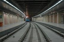 4.5 کیلومتر از باقیمانده مسیر خط دوم قطار شهری مشهد ریل گذاری شد