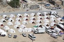اردوگاه 2 هزار نفری در پایانه برکت آماده اسکان اضطراری زائران اربعین