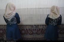 تولید فرش مددجویان کرمانی ۴۰ درصد رشد دارد