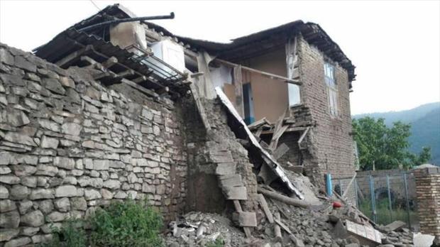 حوادث طبیعی 1140 میلیارد ریال به خراسان شمالی خسارت زد