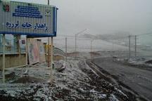 بارش پراکنده برف در گیلان ادامه دارد
