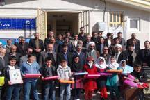 2 مدرسه در روستاهای گیلانغرب به بهره برداری رسید