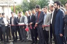 بهره برداری از طرح های عمران شهری در لاهیجان
