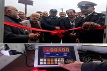 افتتاح سامانه دوربین توزین حرکت هوشمند خودروهای سنگین در جاده هراز