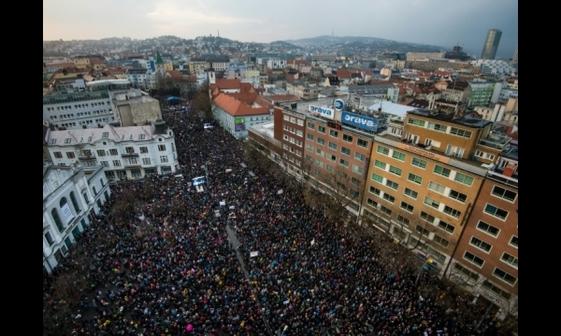 عکس/تظاهرات علیه فساد دولت