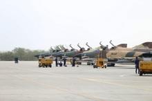 رژه مشترک هوایی ارتش و سپاه در آبهای خلیج فارس