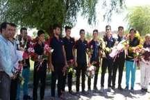 استقبال از بازیکنان گنبدی تیم والیبال نوجوانان دانش آموزی گلستان