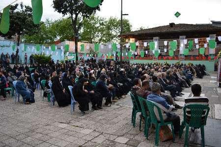 برگزاری جشن های مبعث حضرت رسول (ص) در امام زادگان شاخص گیلان