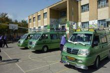 سرویسهای دانشآموزی در محوطه مدارس توفق کنند