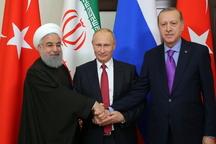 اردوغان: دیدارهایم با روحانی و پوتین ادامه پیدا میکنند