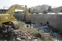 15 هزار متر مربع از رودخانه مافتون و فیروزآباد ری لایروبی شد