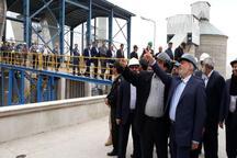 کارخانه سیمان باقران خراسان جنوبی مجهز به گاز طبیعی شد