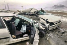 تصادف رانندگی در مهاباد 2 کشته برجا گذاشت