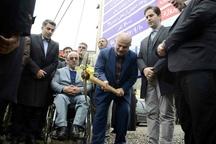 کلنگ اجرای طرح فاضلاب منطقه معلولان شهر رشت به زمین زده شد