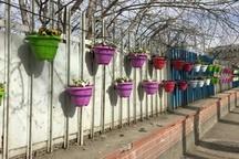 ۸۵۰ گلدان از معابر اردبیل به سرقت رفته است