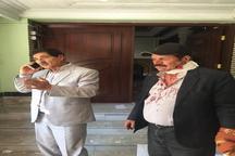 رئیس فدراسیون فوتبال افغانستان در انفجار امروز کابل زخمی شد/ عکس