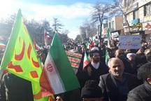 راهپیمایی  مردم استان اردبیل در محکومیت نا آرامی های اخیر کشور