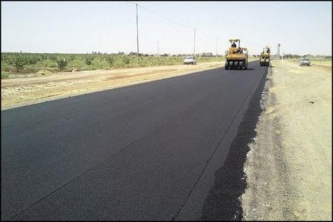 تکمیل عملیات روکش آسفالت محور سوسن به ایذه در خوزستان