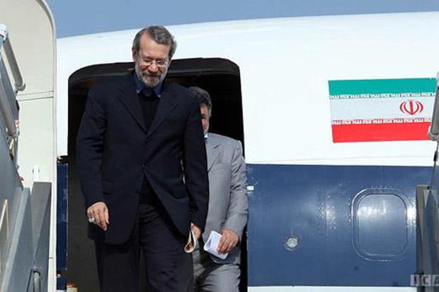 رئیس مجلس شورای اسلامی وارد اراک شد