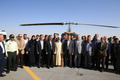 پایگاه اورژانس هوایی در اراک بهره برداری شد