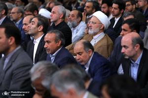دیدار مسئولان نظام با رهبر معظم انقلاب