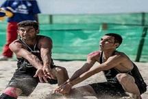 تیم ملی والیبال ساحلی با ترکیبی گلستانی راهی مسکو شد