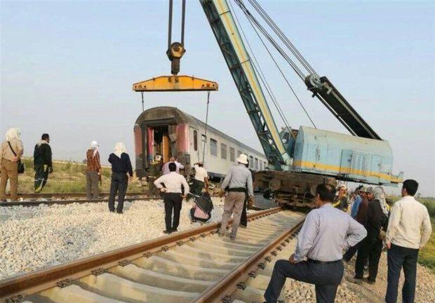 دلیل خروج قطار حومهای اهواز- اندیمشک در دست بررسی است