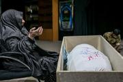 مادر شهید ناصر پورتقی آسمانی شد