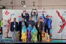مسابقات ژیمناستیک استان فارس  شیراز اول شد