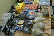 بیش از 25 هزار عدد انواع مواد محترقه در عباس آباد کشف و ضبط شد