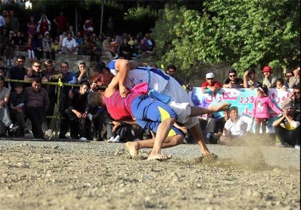 جشنواره بازی های بومی و محلی در کرمانشاه آغاز شد