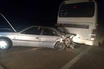 تصادف سه خودرو در جهرم 8 زخمی برجا گذاشت