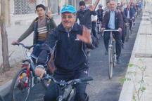 نخستین همایش دوچرخه سواری شهر یزد در سال 97 برگزار شد