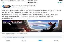 سرنگون کردن هواپیمای ایرانی بیرحمانه بود