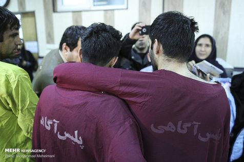 ۶ سارق مسلح در پایتخت دستگیر شدند+ تصاویر