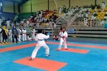 دختران گیلانی در اولین مرحله لیگ کاراته وان ایران سه مدال کسب کردند