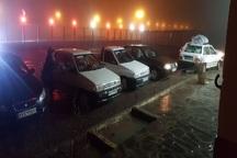 45 مسافر در پایگاه گردنه ملا احمد نایین اسکان یافتند