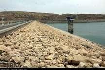 ورود 132 میلیون مترمکعب آب به سد دوستی