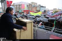 فرماندار سقز:مردم ایران اسلامی اعتماد ناپذیری آمریکا را بار دیگر فریاد زدند