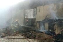 جزییات آتش سوزی در انبار کولر در کوی صنعتی رود تبریز