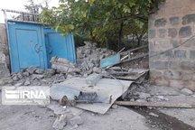خسارت جزئی واحدهای مسکونی روستاهای هممرز با کانون زلزله در بستانآباد