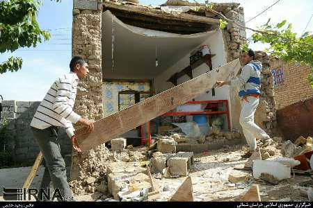1822 منزل روستایی زلزله زده در خراسان شمالی نیازمند بازسازی است