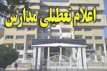 مدارس خوزستان تعطیل شد