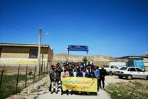 تعدادی از معلمان دیشموک مقابل آموزش و پرورش تحصن کردند