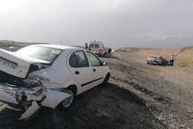 سوانح رانندگی در جاده های آذربایجان شرقی مصدوم شدن ۱۵ نفر را در پی داشت